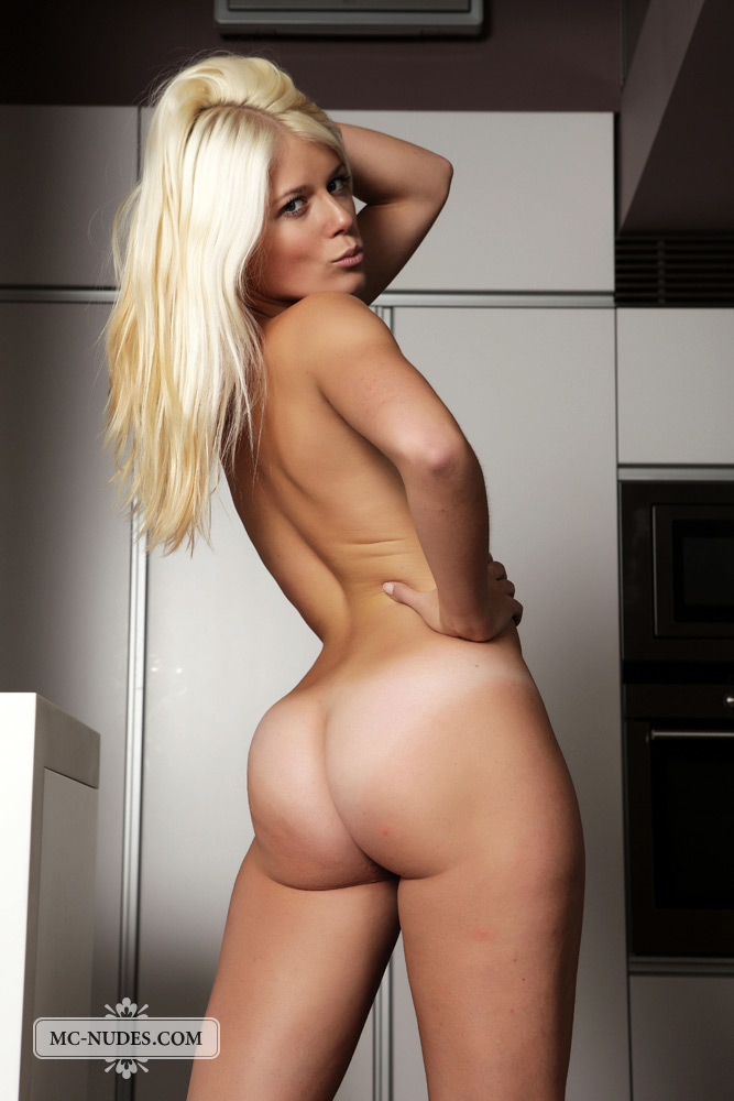 Hot chick naked white socks