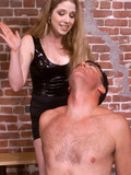 nude-man-gets-his-face-and-ass-spanked-by-tall-blonde-mistress-dressed-in-black