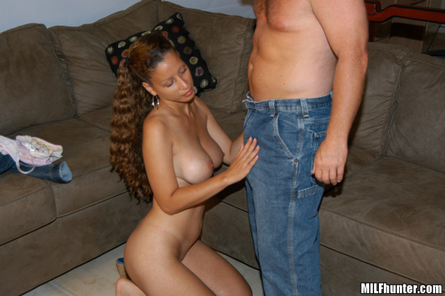 Home alone milf gets unwanted creampie