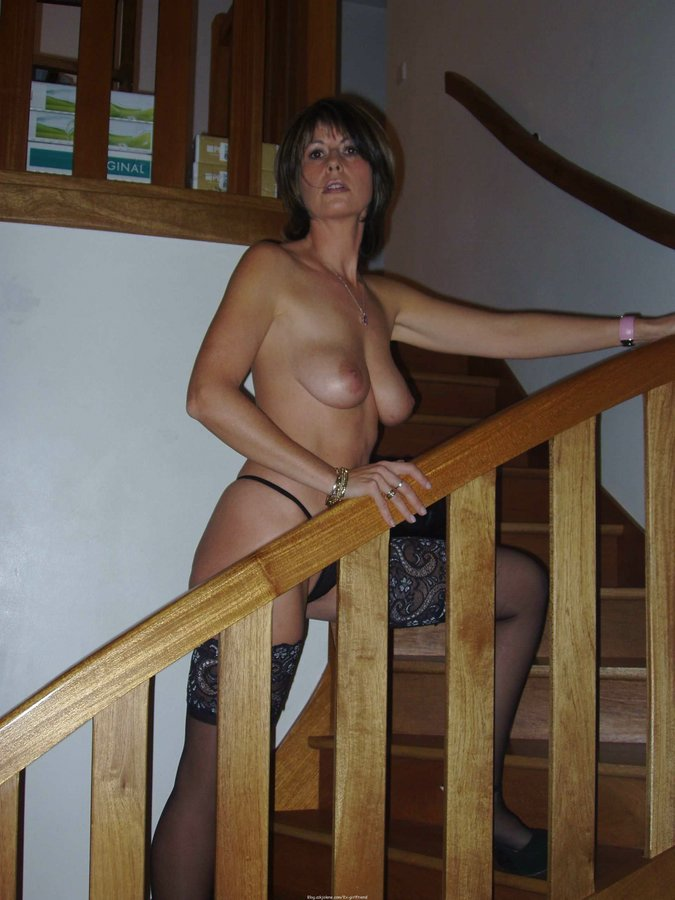 Classy Porn Mom - Amateur moms with small and big tits pose naked and get pleased by their  lovers