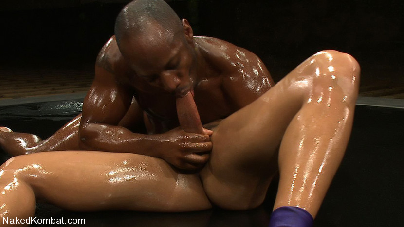 Oiled porn black man, Santa sexy girls