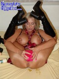 crazy-solo-woman-in-black-high-boots-and-skirt-stretches-her-pussy-to-the-limit