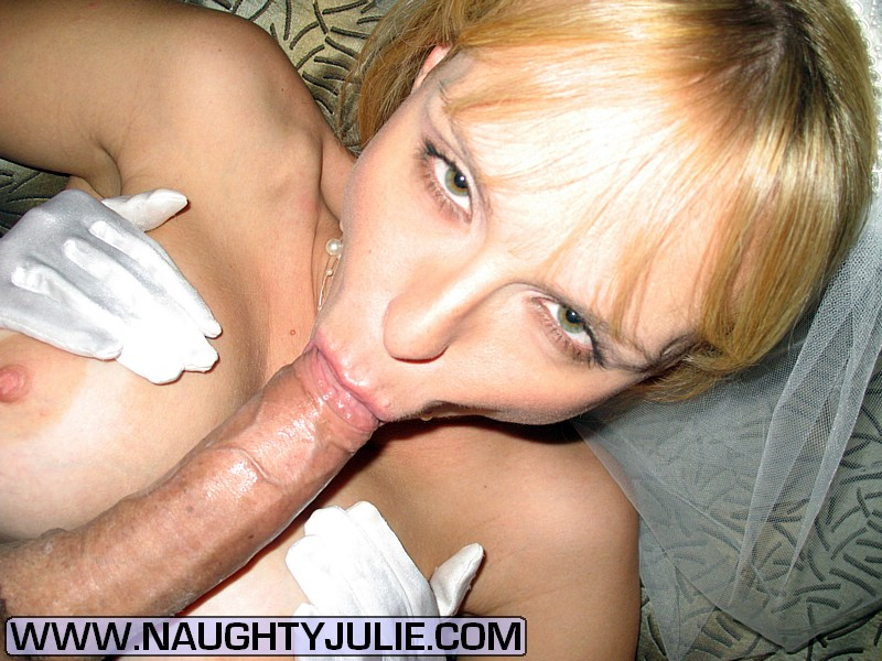 fair haired horny milf with pierced mouth presents stout bj