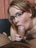 spectacled-pale-skinned-chick-shows-her-smooth-pussy-then-gets-her-butt-hole-stretched