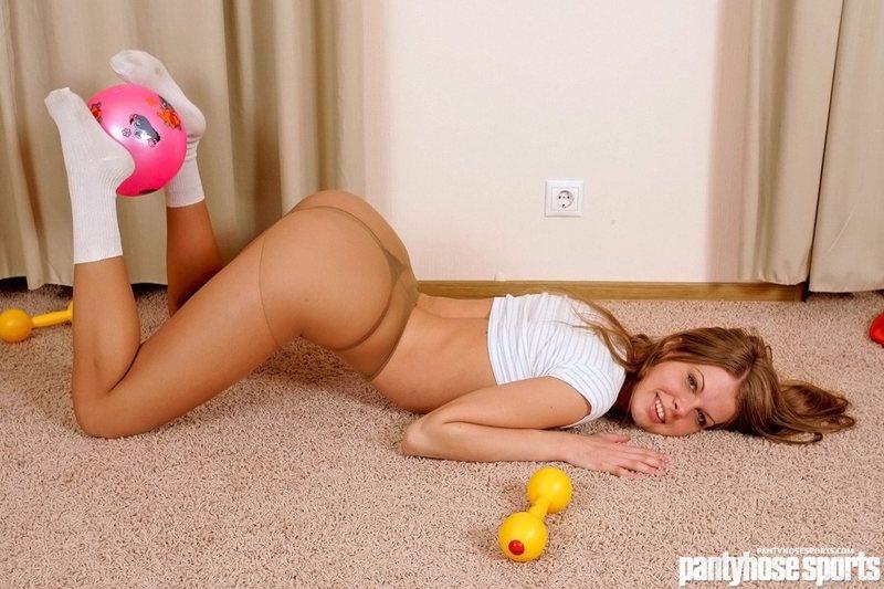 pantyhose sports