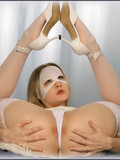 flexy-chickie-in-white-mask-sticks-long-dildo-in-her-pussy-and-butthole