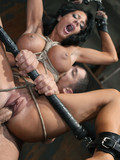 tied-up-busty-brunette-gets-her-pussy-fucked-with-drilldo-and-throbbing-cock