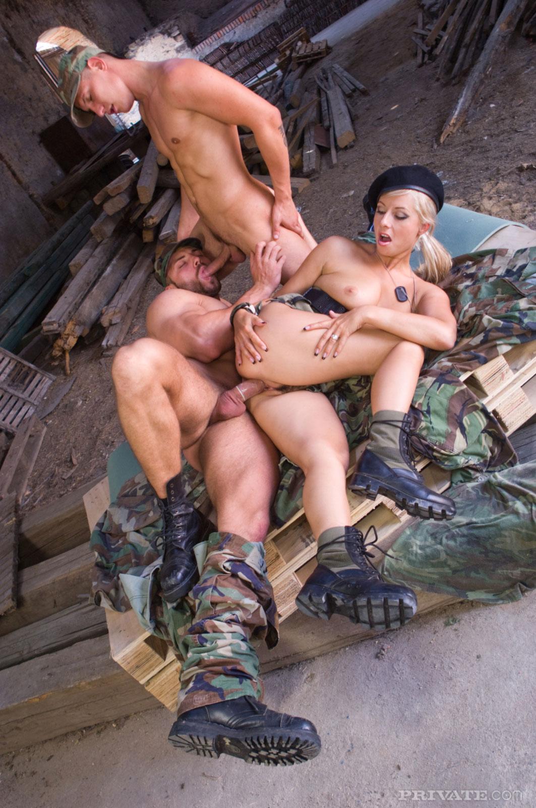 Free soldier bisexual gay porn first time 3