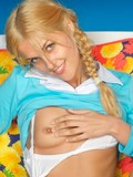tender-teen-blonde-in-braided-pigtails-pulls-off-her-white-panties-and-exposes-her-cute-snatch