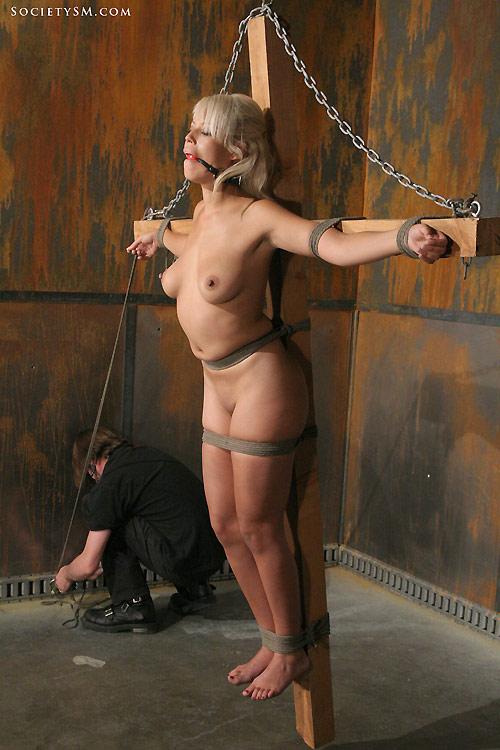 Nude women in restraints — img 14