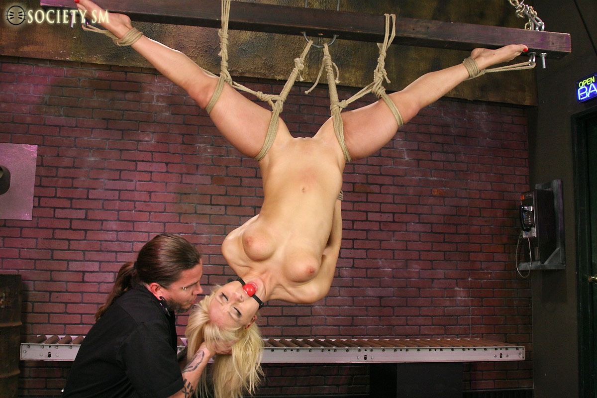 Tied and tortured women