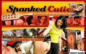 spanked-cutie