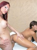 magnificent-brunette-chick-gets-nude-in-front-of-tranny-and-gets-stuffed