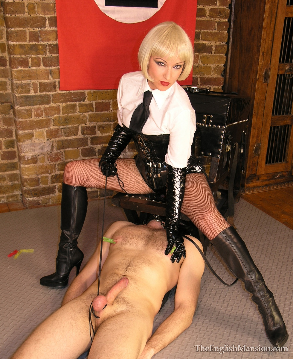 Sexy long haired slave meets the flogger for the first time - 1 part 7
