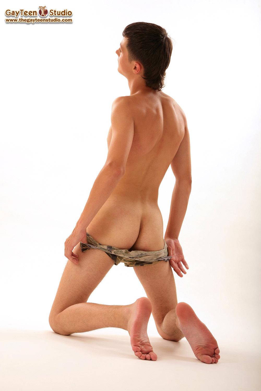 Naked legs wide open