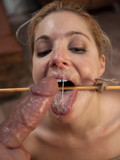 tied-blonde-haired-slave-chick-gags-on-big-rock-hard-cock-of-her-master