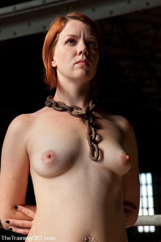 Redhead slave girl