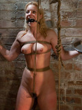 rope-tied-blonde-gets-punished-with-toys-and-chews-sturdy-dick-of-her-master