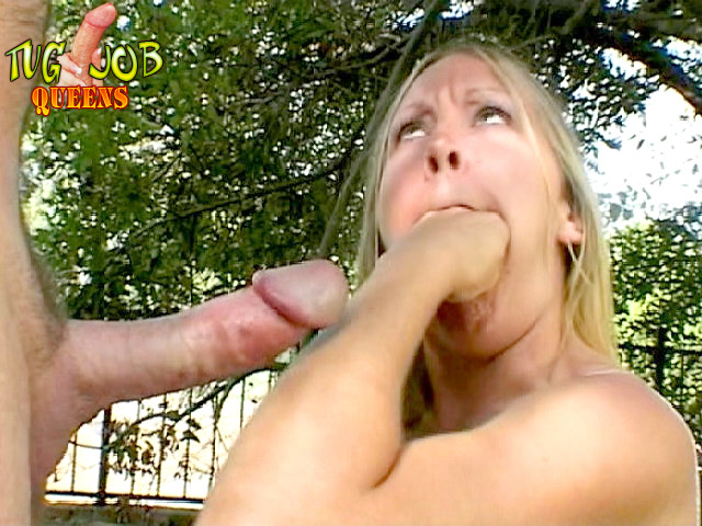 Rylan recommend best of job tug blonde awesome