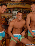 three-topless-sexy-men-takeoff-their-blue-jeans-and-pose-in-briefs-on-bar-stools