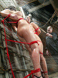 two-helpless-bound-curvy-slave-brunettes-learn-more-about-water-torture