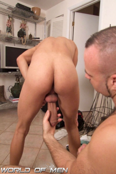 Gay Jock Gets His Ass Stuffed With Cock
